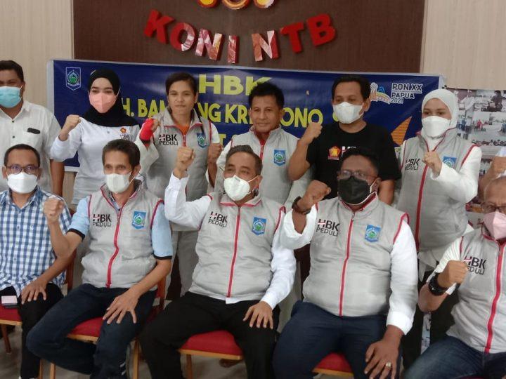 Semangat Peduli di Pandemi Covid-19, HBK Gotong Royong Bantu Kontingen NTB di PON Papua, Wujud Peduli Dapil.