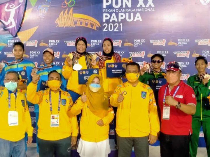 Perhatian yang Luar Biasa dari Gubernur NTB dan Danrem 162/WB Kepada Para Atlete dan Kontingen NTB di PON XX Papua Berbuah Manis.