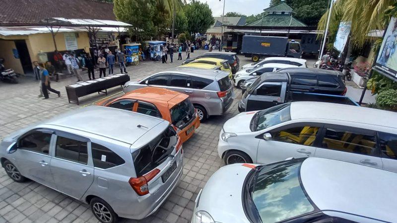 Tim Gabungan Sat Reskrim & Unit Pidum Berhasil Amankan 14 Unit Mobil Hasil Penggelapan di Wilayah Polresta Mataram.