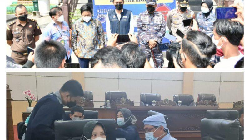 TNI AL – Lanal Banjarmadin & Kadin Kabupaten Banjar Bersinergi Gelar Servak Maritim